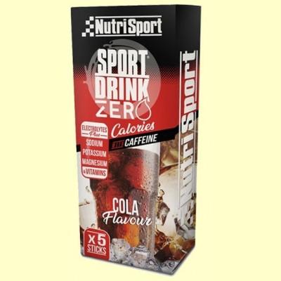 Bebida Hydra Zero Cola - 5 sticks - NutriSport