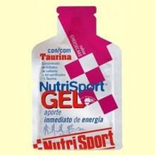Gel Sport con Taurina Sabor Cheesecake - 40 gramos - NutriSport