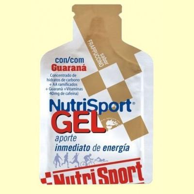 Gel + Guaraná Frappuccino - 40 ml - Nutrisport
