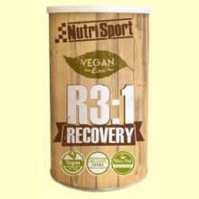 Vegan R3:1 Recovery - Recuperación - 600 gramos - Nutrisport