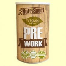 Vegan PreWork - Aporte energético - 380 gramos - Nutrisport