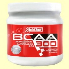 Aminoácidos Ramificados BCAA - 300 gramos - NutriSport