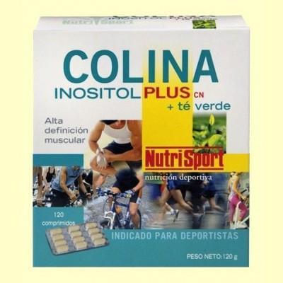 Colina Inositol Plus Té Verde - 120 comprimidos - NutriSport