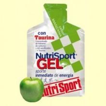 Gel Sport con Taurina Sabor Manzana - 40 gramos - Cycling NutriSport