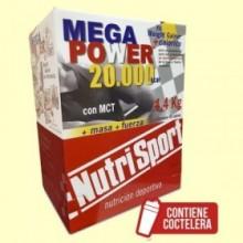 Mega Power Batido Vainilla - 40 sobres - NutriSport