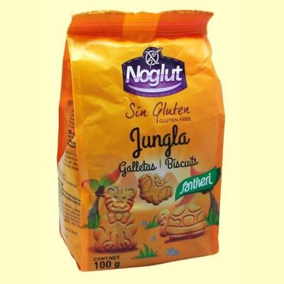 Noglut Galletas Jungla Sin Gluten - 100 gramos - Santiveri