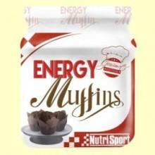 Energy Muffins Chocolate - 560 gramos - Nutrisport