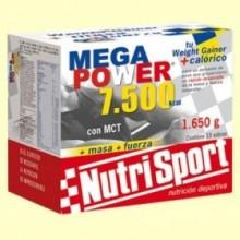 Mega Power Batido Vainilla - 15 sobres - NutriSport
