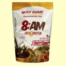 Desayuno con Proteínas y Avena 8:AM - 650 gramos - Nutrisport
