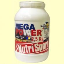 Mega Power sabor Chocolate - 2,5 Kg - Nutrisport