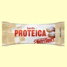 Barrita Proteica - Sabor Toffee - 46 gramos - NutriSport