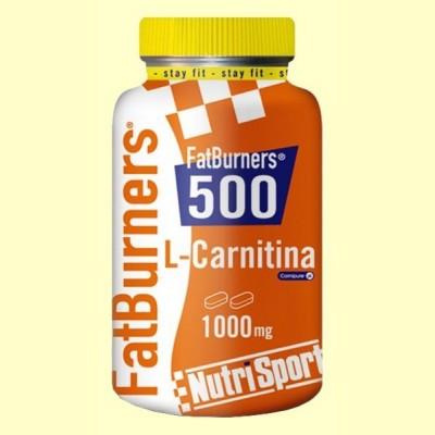 FatBurners 500 - L-Carnitina - Nutrisport - 40 comprimidos