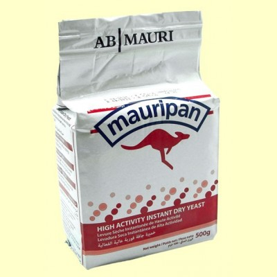 Mauripan Levadura Seca Instantánea - 500 gramos - AB Mauri
