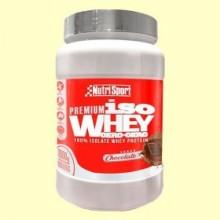 Iso whey cero, cero Chocolate - 1 kg - Nutrisport