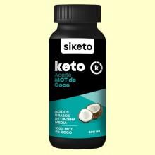 Keto Aceite MCT de Coco - 300 ml - Siketo
