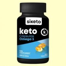 Keto Omega 3 - 100 cápsulas - Siketo