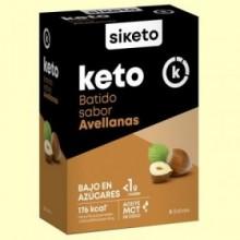 Keto Batido sabor Avellana - 5 sobres - Siketo