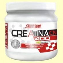 Creatina 400 Monohidrato - 400 gramos - NutriSport