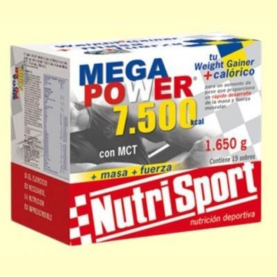 Mega Power Batido Fresa - 15 sobres - NutriSport