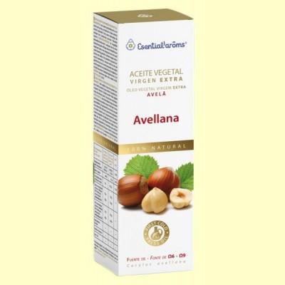Aceite Vegetal Virgen de Avellana - 100 ml - Esential Aroms