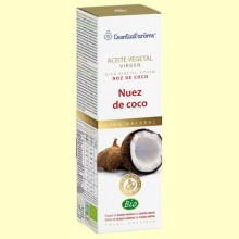 Aceite Vegetal Virgen Nuez de Coco Bio - 100 ml - Esential Aroms