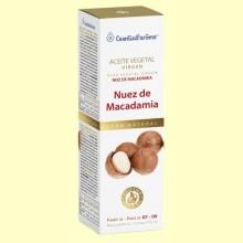 Aceite Vegetal Virgen Nuez de Macadamia - 100 ml - Esential Aroms