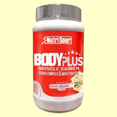 Body Plus Vainilla - 850 gramos - Nutrisport