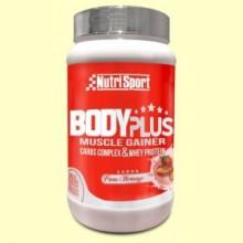 Body Plus Fresa - 850 gramos - Nutrisport