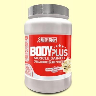Body Plus Vainilla - 1800 gramos - Nutrisport