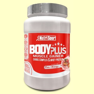 Body Plus Fresa - 1800 gramos - Nutrisport