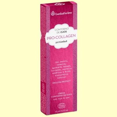 Contorno de Ojos Antiedad Pro-Collagen Bio - 15 ml - Esential Aroms