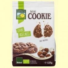 Mini Cookies Chocolate y Avellana Bio - 125 gramos - Bohlesner Mühle