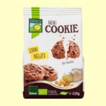 Mini Cookies Chocolate y Jengibre Bio - 125 gramos - Bohlesner Mühle
