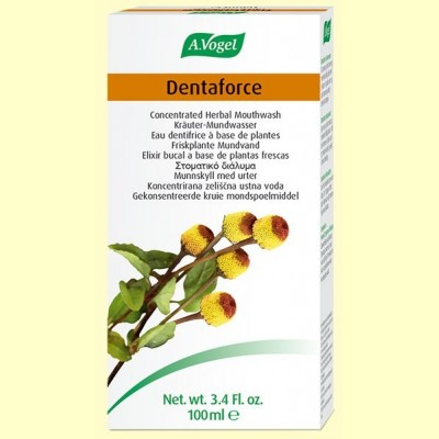 Dentaforce Elixir - Elixir Bucal - 100 ml - A. Vogel