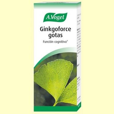 Ginkgoforce gotas - Memoria - 100 ml - A.Vogel