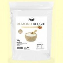 Almond Delight - Harina de Almendra Sabor Neutro - 500 gramos - PWD