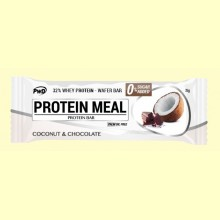 Protein Meal - Barritas Proteicas sabor Coco y Chocolate - 1 barrita - PWD