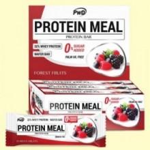 Protein Meal - Barritas Proteicas sabor Frutas del Bosque - 12 barritas - PWD