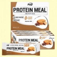 Protein Meal - Barritas Proteicas sabor Galleta - 12 barritas - PWD