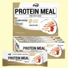Protein Meal - Barritas Proteicas sabor Banoffee - 12 barritas - PWD