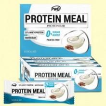 Protein Meal - Barritas Proteicas sabor Yogurt - 12 barritas - PWD