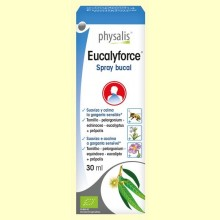 Eucalyforce Spray Bucal Bio - 30 ml - Physalis