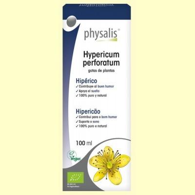 Hypericum Perforatum Bio - Hipérico - 100 ml - Physalis