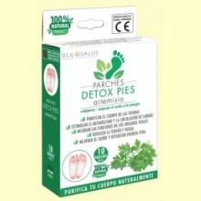 Parches Detox Pies Artemisia - 10 unidades - DLG Salus