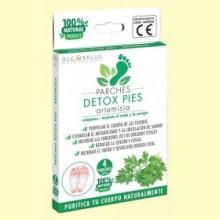 Parches Detox Pies Artemisia - 4 unidades - DLG Salus