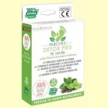 Parches Detox Pies Té Verde - 10 unidades - DLG Salus