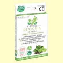 Parches Detox Pies Té Verde - 4 unidades - DLG Salus