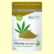 Proteína de Cañamo en Polvo Bio - 300 gramos - Biotona