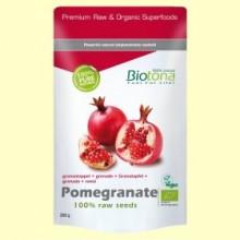 Granada Semillas Raw Bio - 200 gramos - Biotona