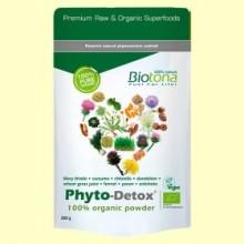 Phyto-Detox Mezcla en Polvo Bio - 200 gramos - Biotona